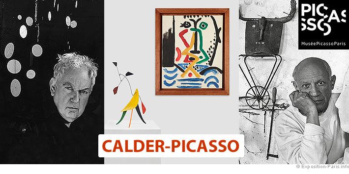 Expo Paris Calder Picasso, musée Picasso