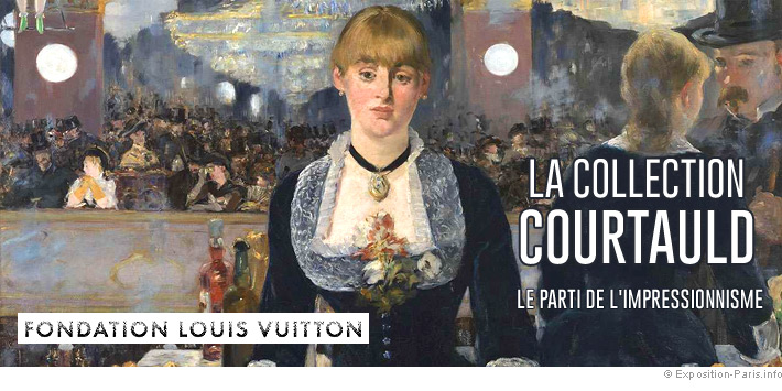 Expo peinture Paris collection-Courtauld fondation Louis Vuitton
