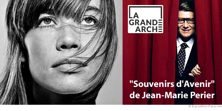 Expo photo paris, Jean-marie Perier, Souvenirs d'avenir, Grande Arche de la Défense
